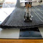 ベクトラン #0番で縫製